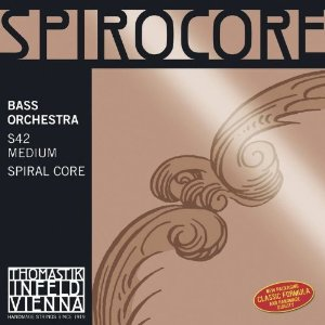 Thomastik Spirocore 3/4 Size Double Bass Strings 3/4 Size Set